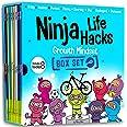 Ninja Life Hacks Growth Mindset 8 Book Box Set (Books 9-16: Perfect, Money, Anxious, Gritty, Dishonest, Shy, Unplugged, Diver