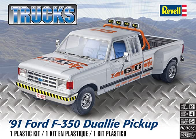 Revell  Ford F  Duallie Pickup Model Kit