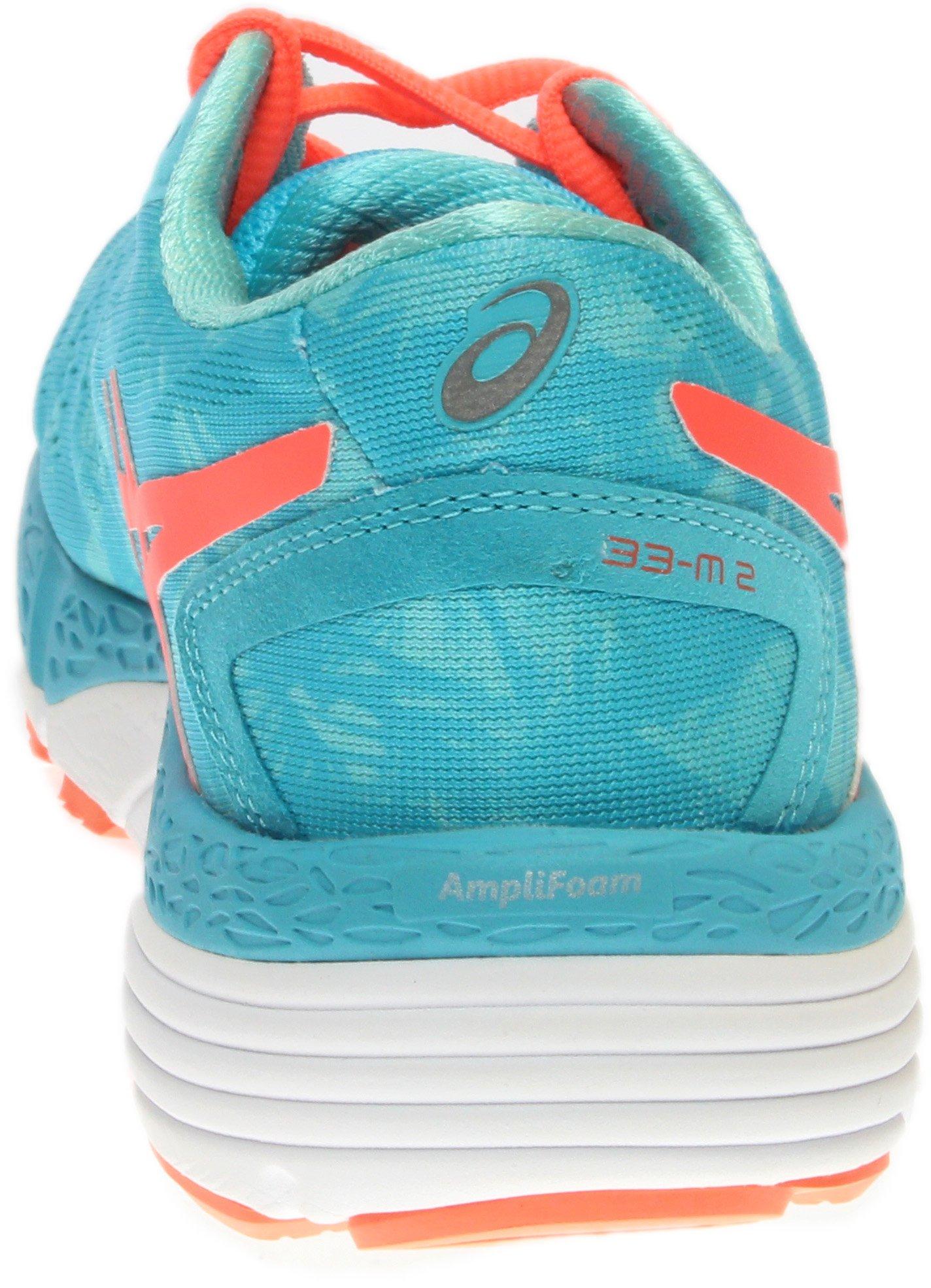 ASICS Women's 33-M 2 Running Shoe, Aquarium/Flash Coral/Aruba Blue, 9.5 M US by ASICS (Image #3)