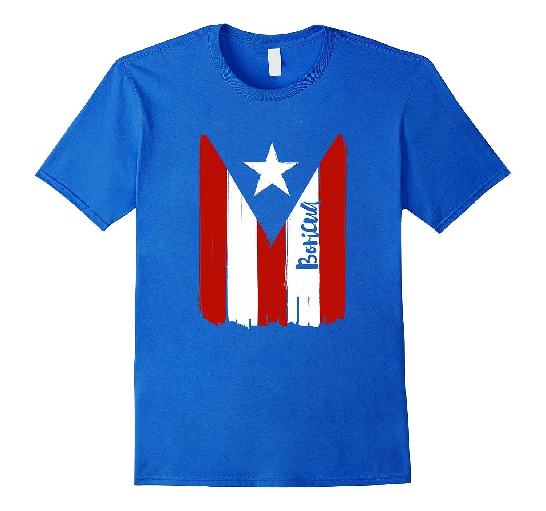 BORICUA | PR Puerto Rican Pride, Nuyorican Flag T-shirt-TH