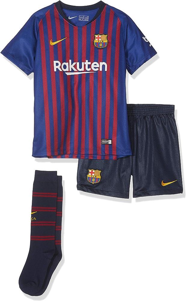 Nike Kinder Conjunto de jersey FCB LK NK BRT HM, azul intenso ...