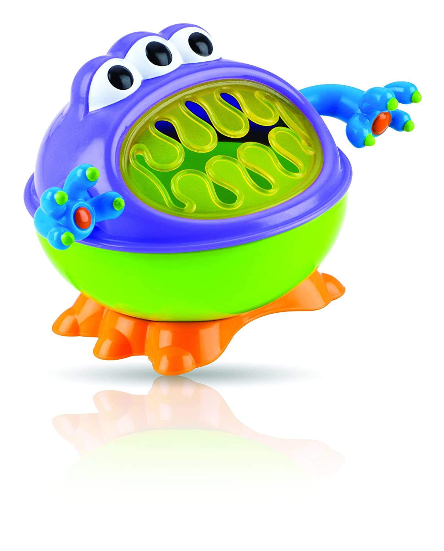 Nuby iMonster Snack Keeper,Green, blue, purple 532000B