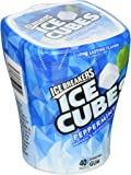 ICE BREAKERS ICE CUBES Peppermint Chewing Gum (Sugar Free, 40-Count)
