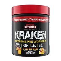 Sparta Nutrition - Kraken Extreme Pre-Workout Powder 40 Servings Sex on the Beach - 320 Grams
