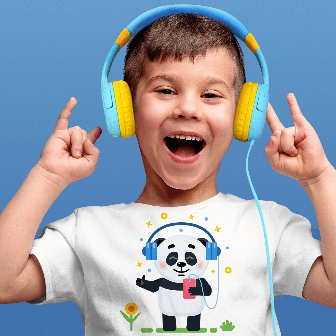 Mpow Kids Headphones with 85dB Volume Limited Hearing Protection & Music Sharing Function, Kids Friendly Safe Food Grade Material, Tangle-Free Cord, Wired On-Ear Headphones for Children Toddler Baby by Mpow (Image #6)