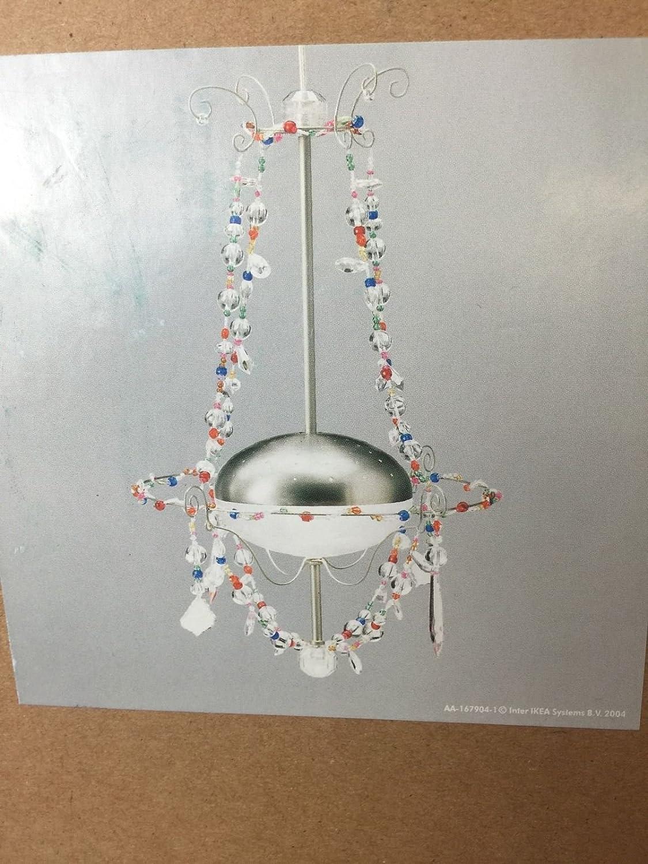 Amazon.com: Ikea Minnen Coloful Beads Chandelier Hanging Pendant ...