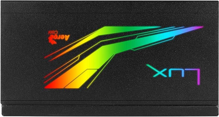 Aerocool Lux RGB M 650W 80Plus Bronzo 230V Alimentatore modulare RGB