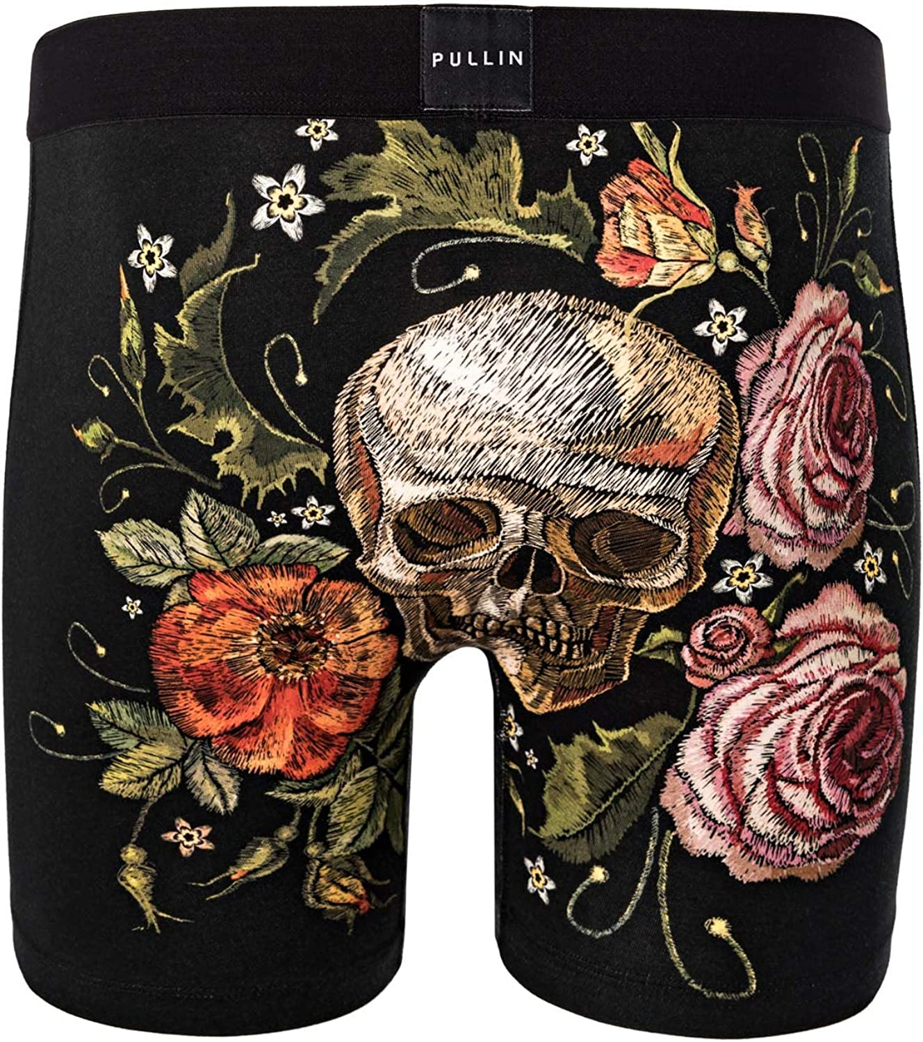 PULLIN Mens Trunk Fashion 2 Printed Cotton SKULLEMBY