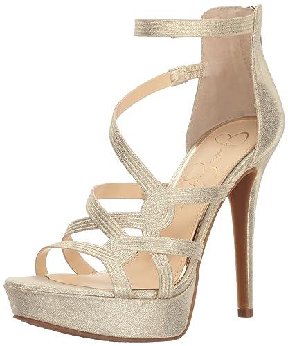 787a459fadf Jessica Simpson Women s BELLANNE Heeled Sandal