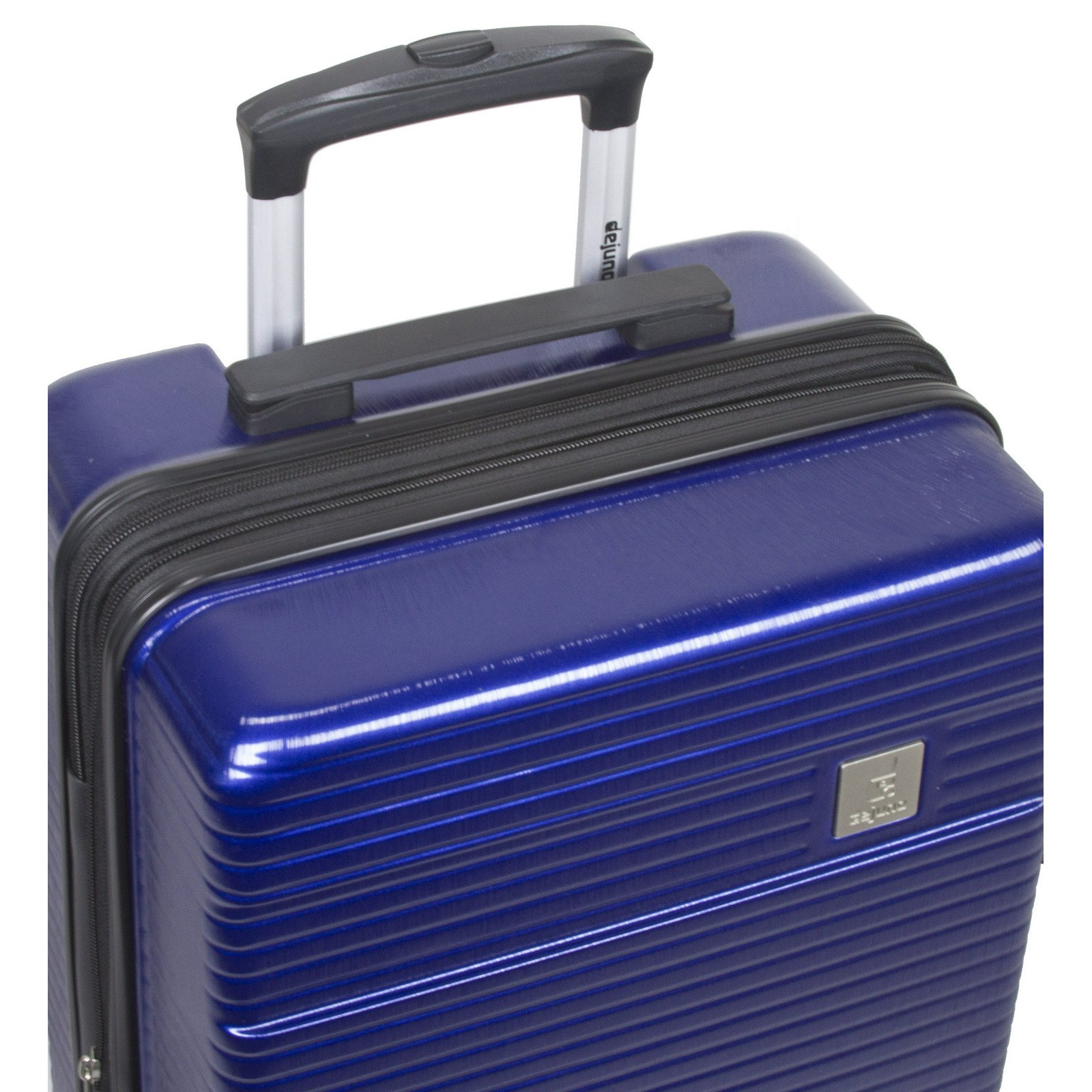 Dejuno Ashford 3-PC Hardside Spinner TSA Combination Lock Luggage Set - Navy by Dejuno (Image #6)