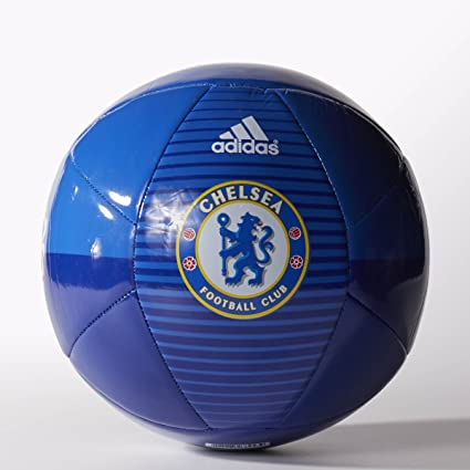 9b65f159ff4226 adidas Performance Chelsea FC Soccer Ball, CFC Reflex Blue/Chelsea  Blue/White,