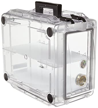 Bel-Art Secador 1.0 Clear Carrying Case Desiccator; 0.7 cu.ft. (F42070-0000): Science Lab Desiccator Accessories: Amazon.com: Office Products
