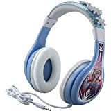 Frozen 2 Kids Headphones, Adjustable Headband, Stereo Sound, 3.5Mm Jack, Wired Headphones for Kids, Tangle-Free, Volume…