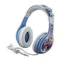 eKids Frozen 2 Kids Headphones, Adjustable Headband, Stereo Sound, 3.5Mm Jack, Wired...