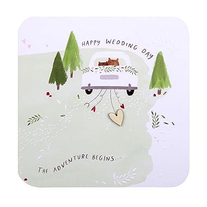 Tarjeta de felicitación de boda de Hallmark - Diseño ...