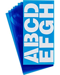Helvetica Font C-Thru Stencil SH3-C//15833 3-Inch Characters