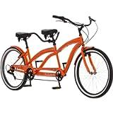 Kulana Lua Tandem Adult Beach Cruiser Bike, 26-Inch Wheels, Single to 7-Speeds, Multiple Colors