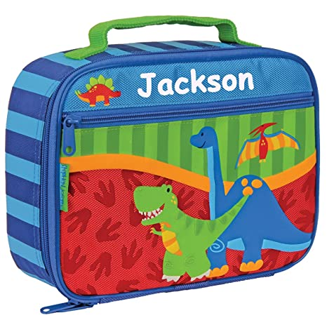 16ef24c48ce5 Personalized Stephen Joseph Space Dinosaur Dino Lunch Box With Name