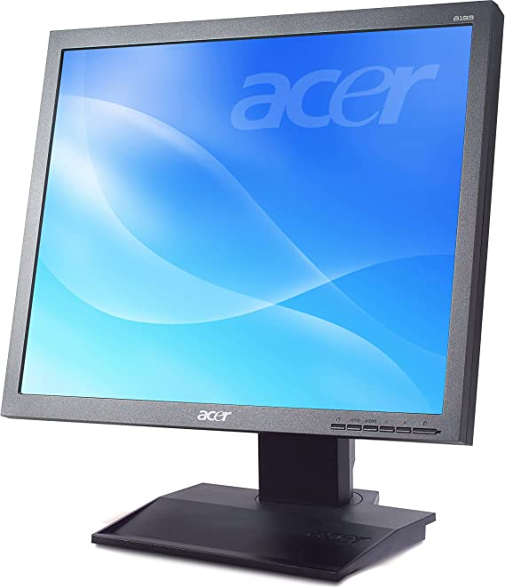 """Free 3 year Warranty Acer B196L 19/"""" LED LCD Monitor 5:4-6ms"""