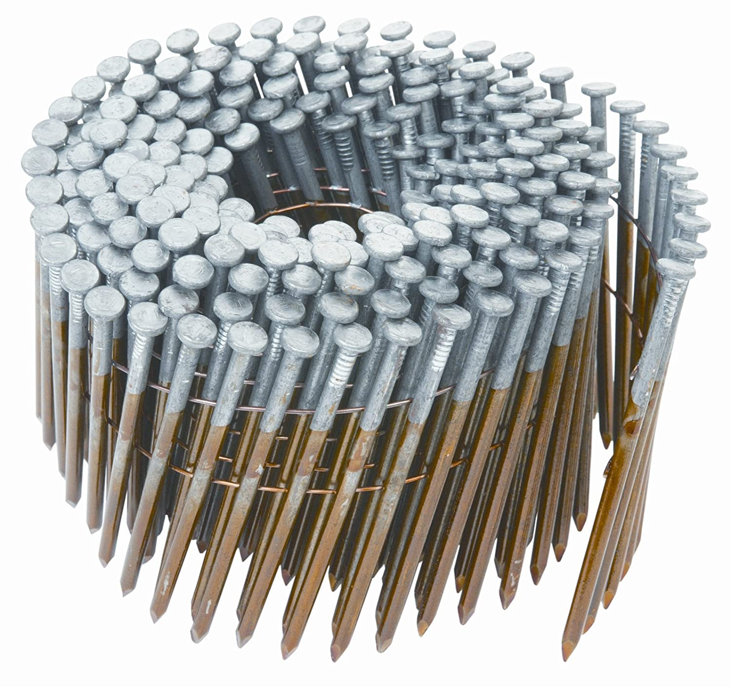 Hitachi 12217 3-1/4-Inch x .131 Smooth Coil Framing Nail - Collated ...