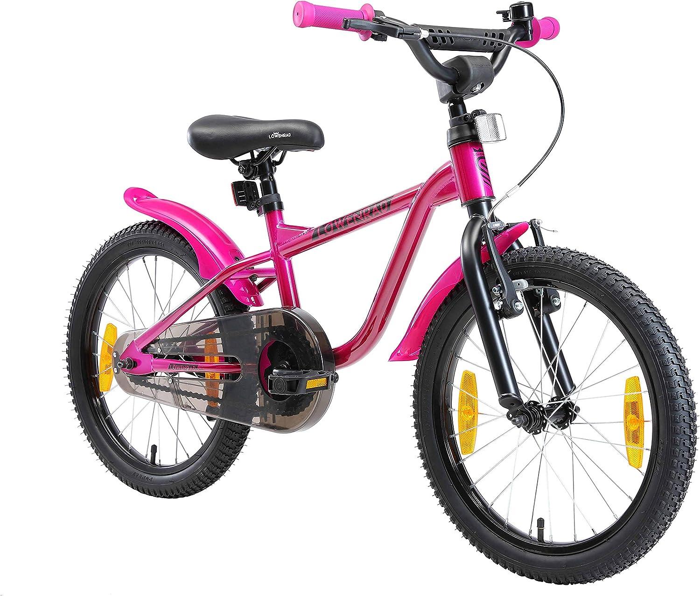 LÖWENRAD Bicicleta Infantil para niños y niñas a Partir de 5 años | Bici 18