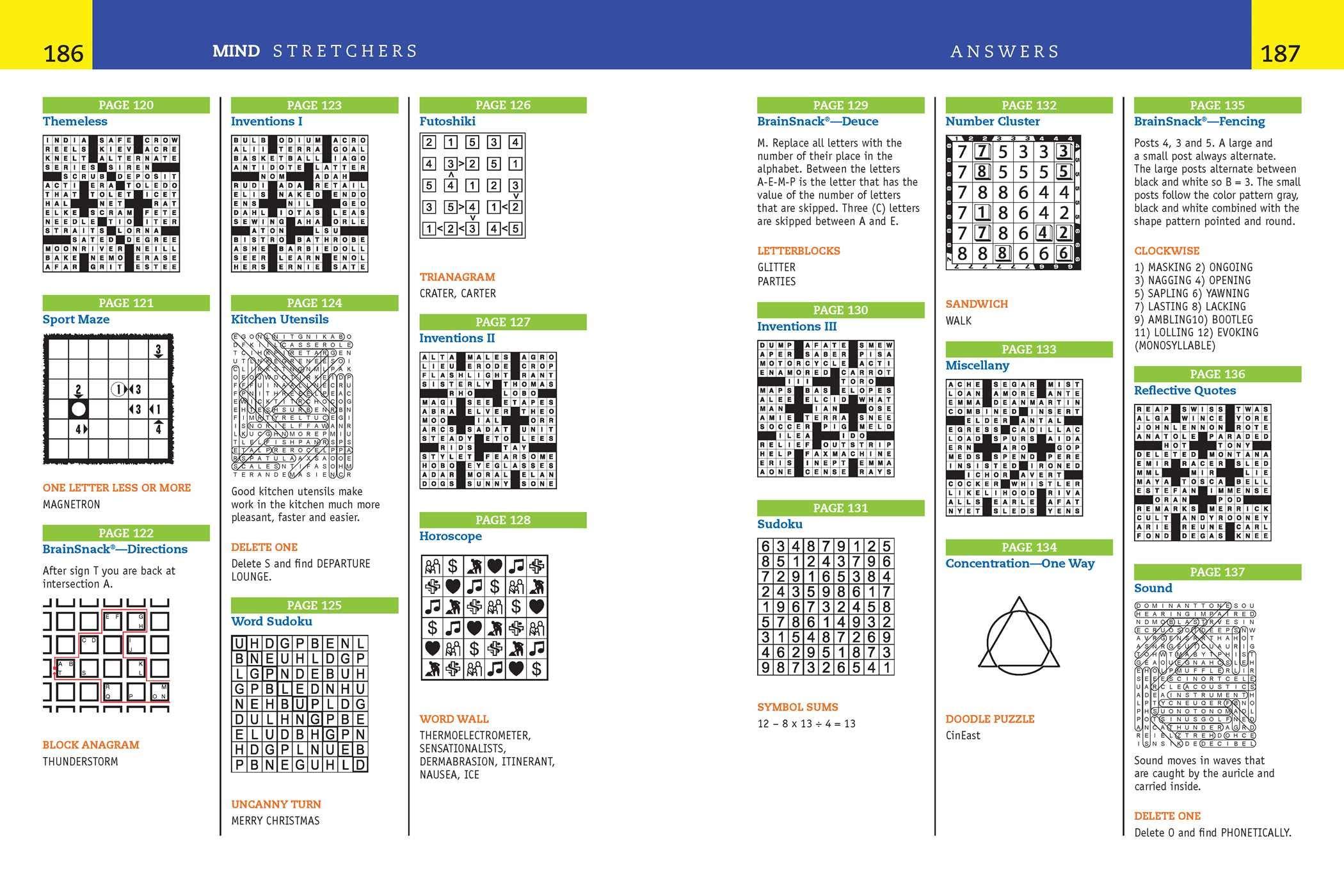 Reader S Digest Mind Stretchers Puzzle Book Number Puzzles Crosswords Word Searches Logic Puzzles Surprises 1 Bragdon Allen D 9781621453512 Amazon Com Books