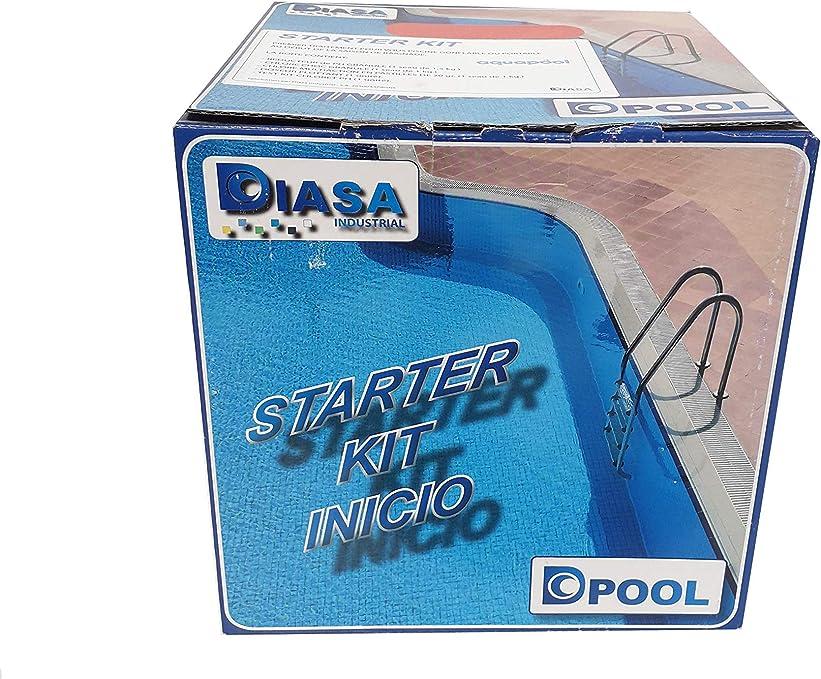 DIASA Starter Kit Inicio: Primer Tratamiento para Piscinas ...