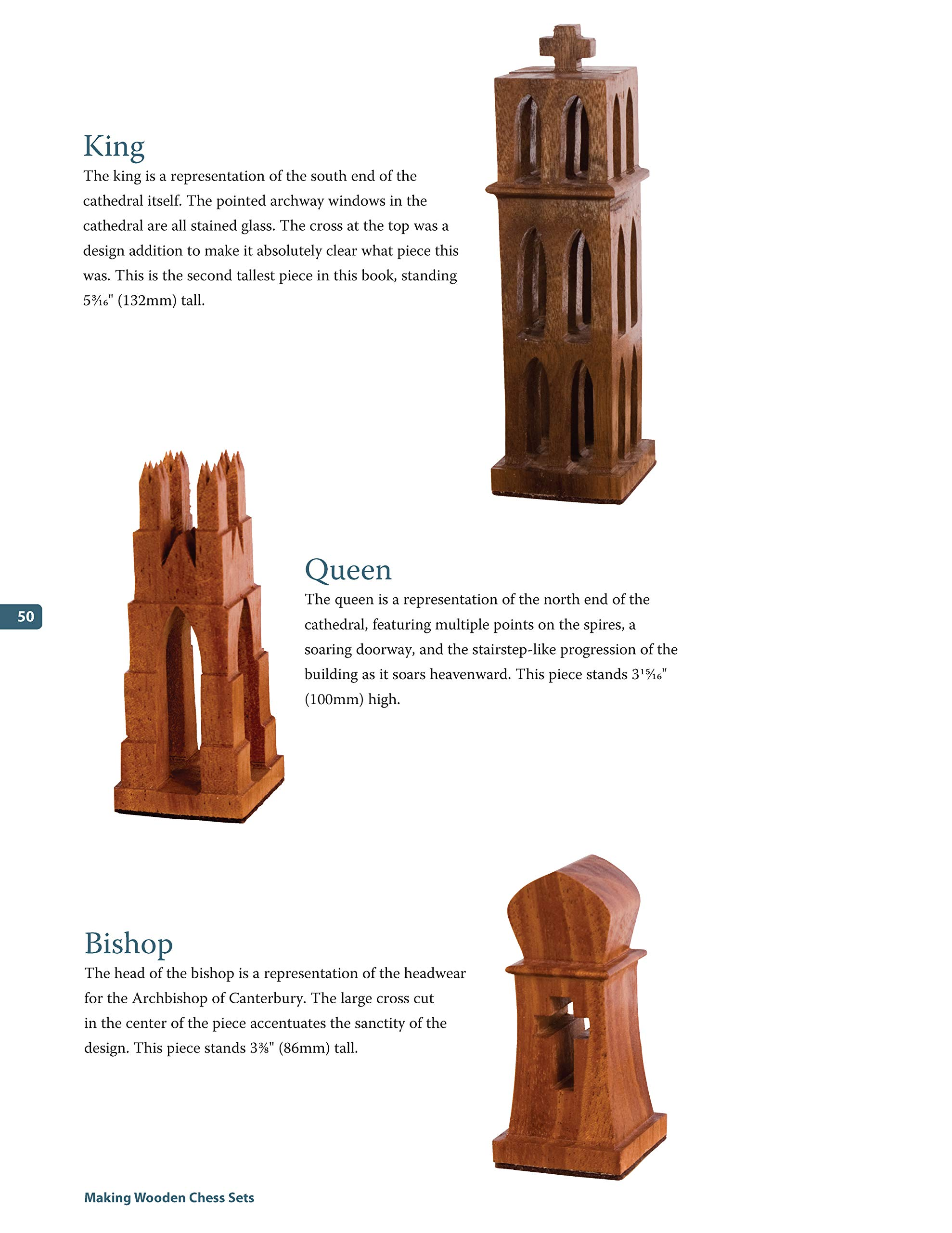 Making Wooden Chess Sets: 15 One-of-a-Kind Designs for the Scroll