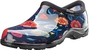 Sloggers Women's Waterproof Rain Garden Shoe Comfort Insole (6, Chelsea Floral)