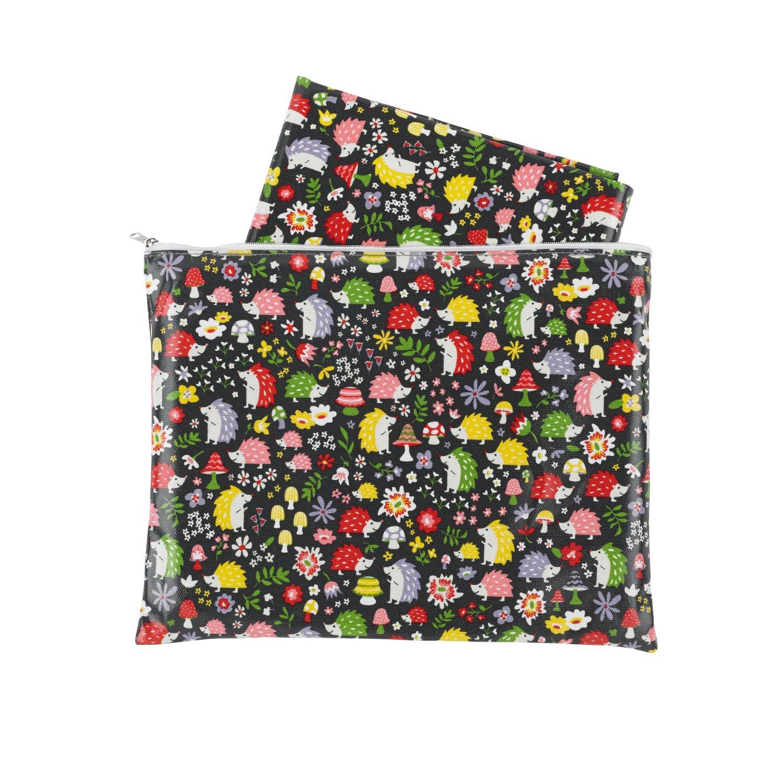 amazon com sugarbooger jumbo floor splat mat hedgehog baby