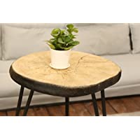 Deals on SUNEON End Tables, Imitation Wood Coffee Side Table