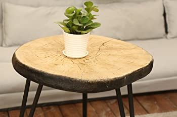 SUNEON Imitation Wood Coffee Side Table