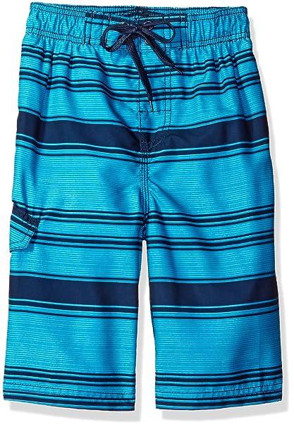 aa492c8a93 Kanu Surf Baby Boys' Haze Stripe Swim Trunk