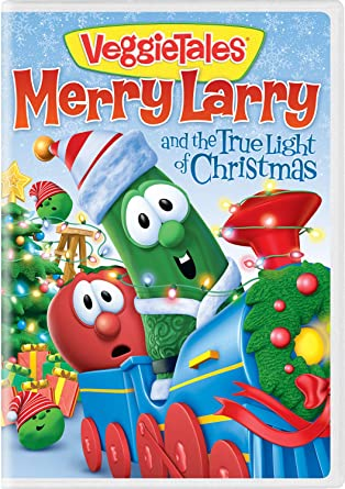 Amazon.com: VeggieTales: Merry Larry and the True Light of Christmas ...