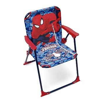 Arditex Licence Pour Enfant Spiderman Sous Métal Chaise Pliante En xBEQrdoeWC