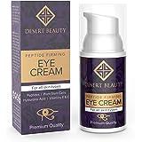 Anti Aging Firming Eye Cream | Peptide Moisturizer Lotion | All Skin Types | Advanced Stem Cell+Collagen Formula For Tightening Sagging Skin & Reducing Dark Circles | 1 oz/30 ML | by Desert Beauty