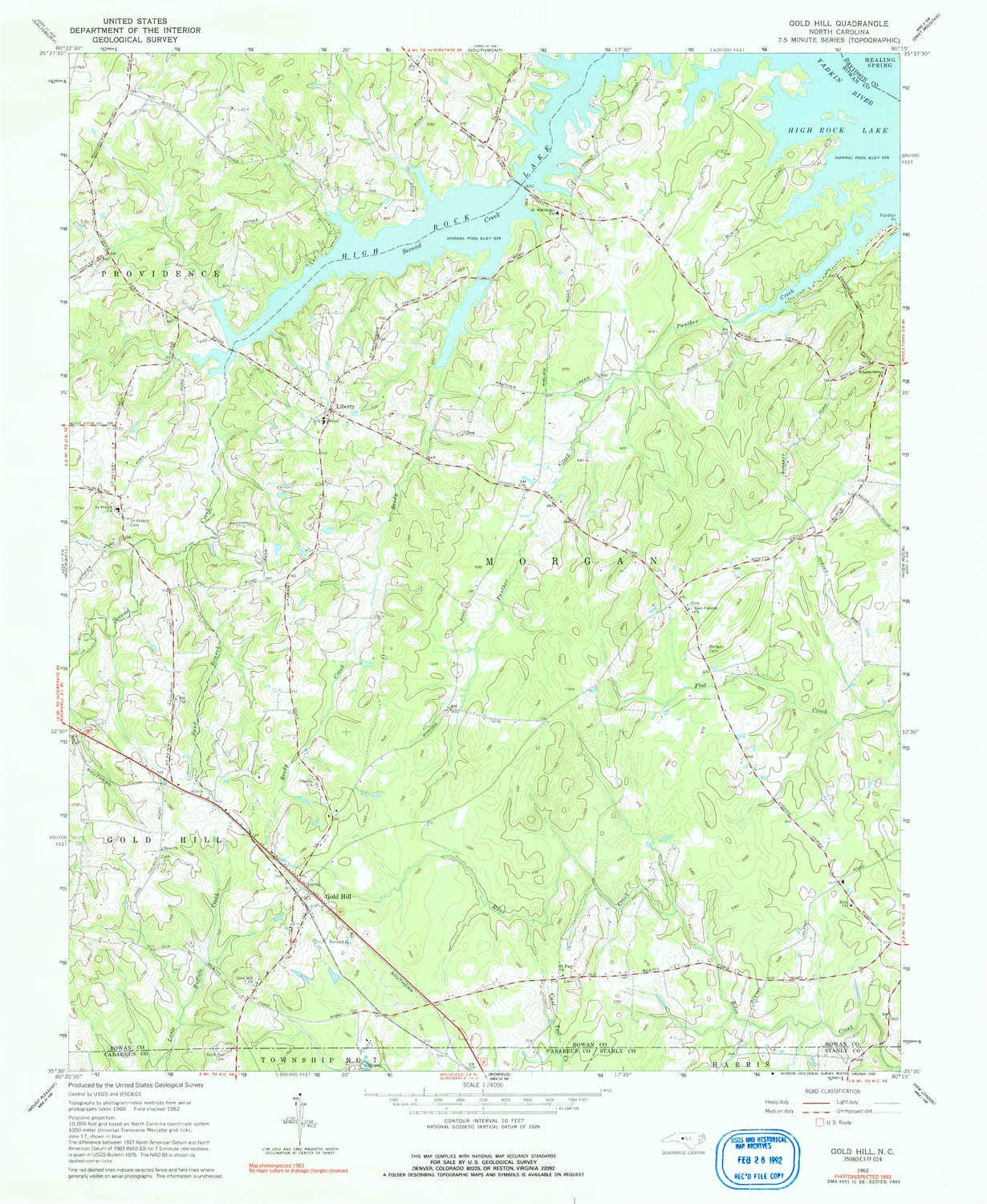 Amazon.com : YellowMaps Gold Hill NC topo map, 1:24000 Scale, 7.5 X on