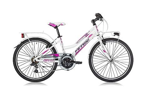 Ferrini Jessy Niñas marco de aleación de bicicleta rueda de 24 ...