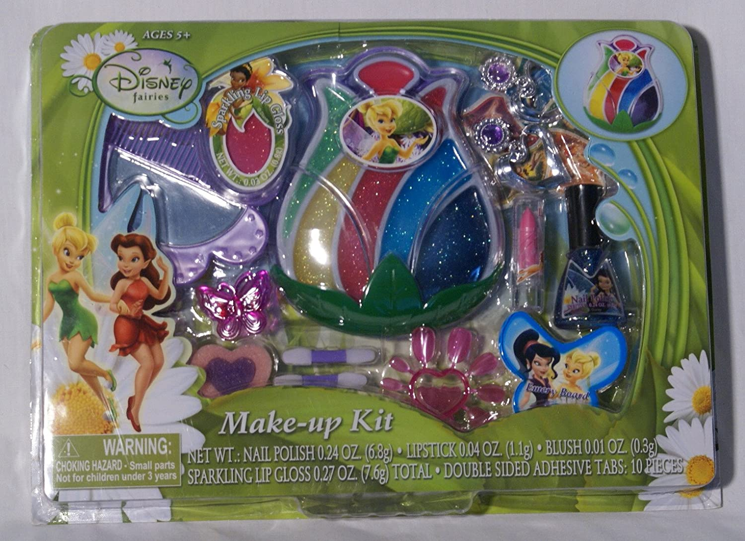 Amazoncom Disney Fairies Makeup Kit Jewelry TinkerBell and the