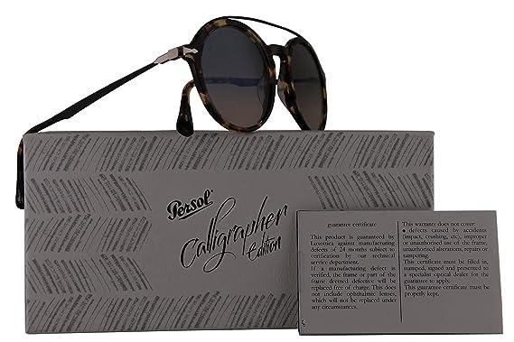 Amazon.com: Persol po3172s calígrafo Edition anteojos de sol ...