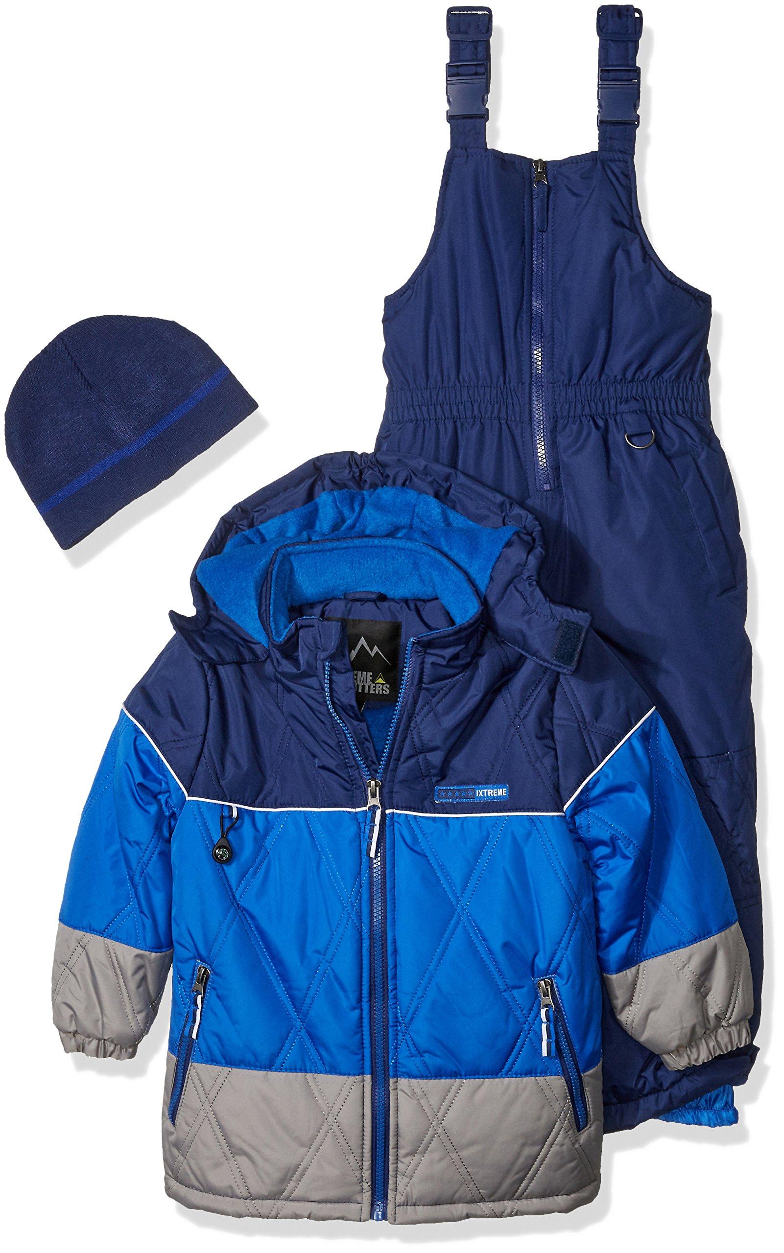 iXtreme Little Boys' Better Snowsuits, Navy, 5