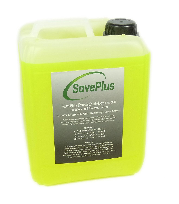 Saveplus Frostschutz Konzentrat fü r Toilettensysteme Wohnmobile 5L Firma Saveplus
