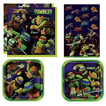 Amazon.com: Unique Teenage Mutant Ninja Turtles Party Bundle ...