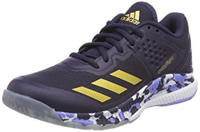 adidas Crazyflight Bounce W, Chaussures de Volleyball Femme, Bleu
