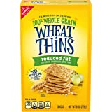 Wheat Thins Reduced Fat Whole Grain Wheat Crackers, 8 Oz, 1Count