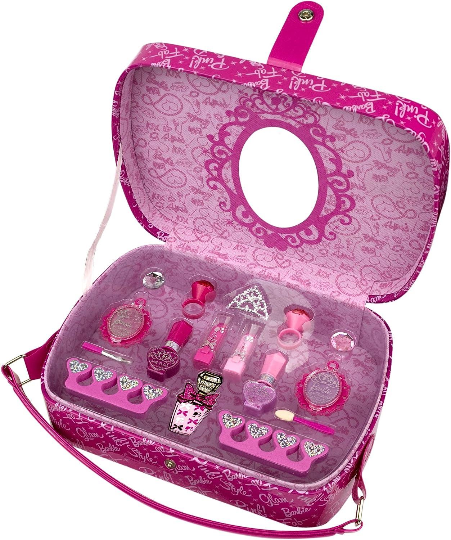 Barbie - Maletín de maquillaje (Markwins International 9528110): Amazon.es: Juguetes y juegos