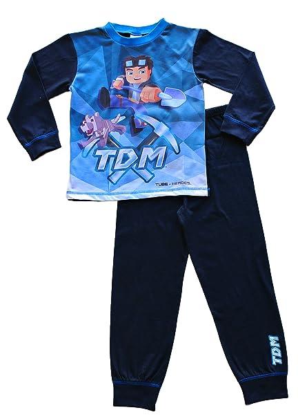 a354978053 Dan TDM You Tube Heroes PajamaThe Diamond Minecart Pajamas 7 to 13 Years  (10)