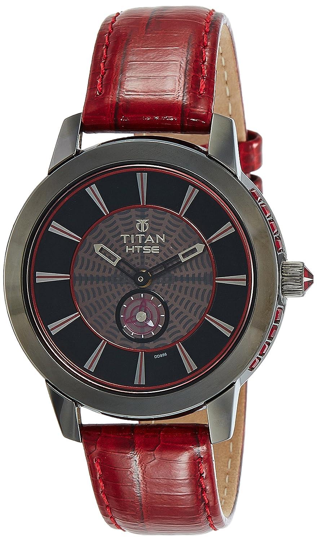 Titan HTSE 3 Analog Black Dial women's Watch - 2523QL02