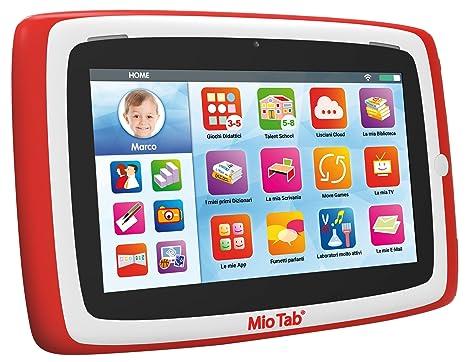 """6186b36a9a Lisciani Giochi 64205 - Mio Tab 7"""" Smart Kid Special Edition, colori  assortiti ["""