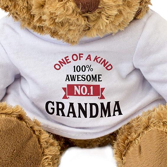 Amazon.com: Grandma número uno, oso de peluche – lindo y ...